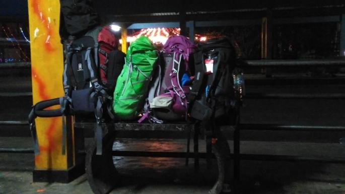 Весь наш багаж, на 4ох